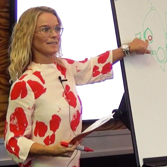 Foredrag om ordblindhed på skoler